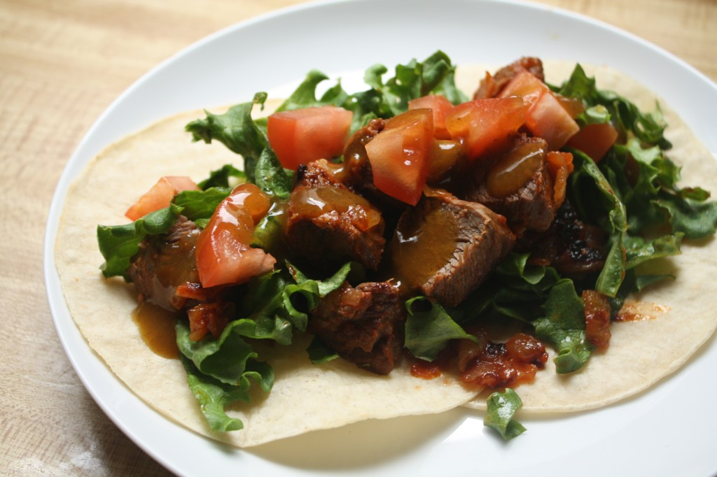 COSTA RICAN RECIPES- Gallos de Carne con Salsa Lizano