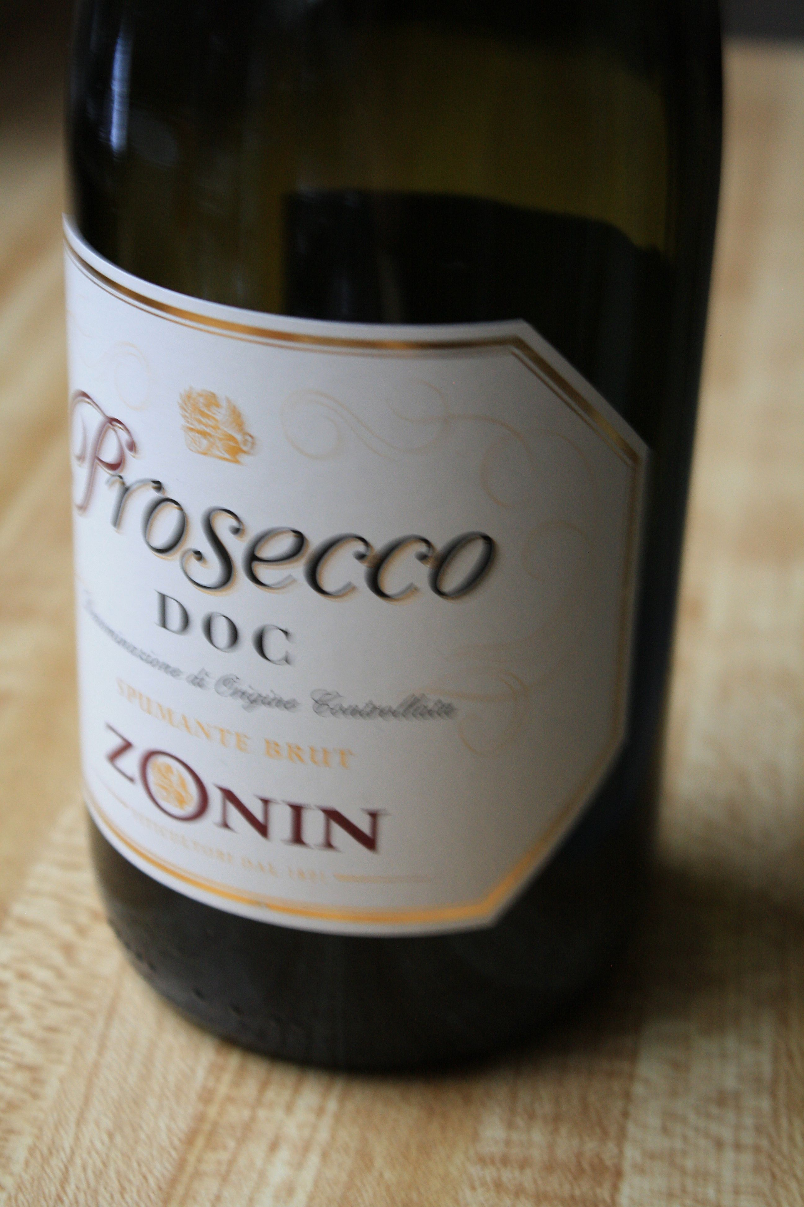 prosecco gives it an extra splash of effervescence