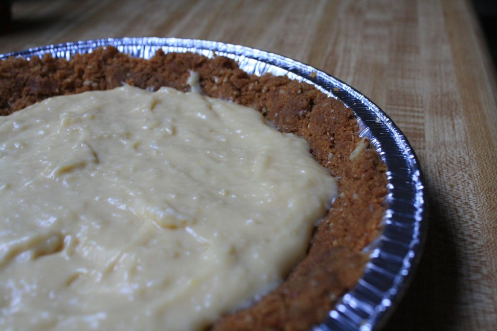 Maple Cream Pie with Toasted Pecan Crust