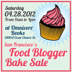 2012 san francisco food blogger bake sale
