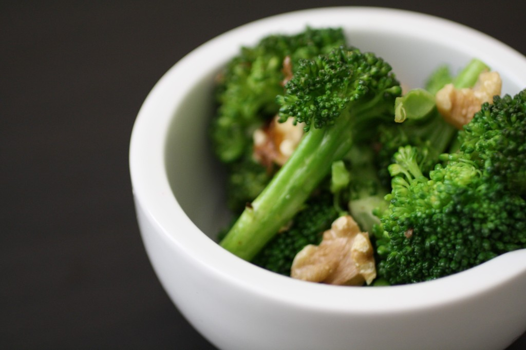 Jeff Friedman Roasted Broccoli with Walnuts