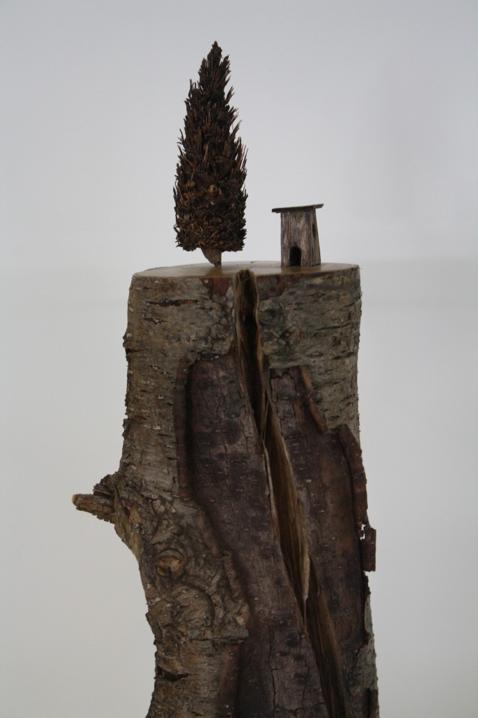 Found Object Art_Wooden Carving_D Cherie Johnson_The Art of Recology_SFO | The Food Poet