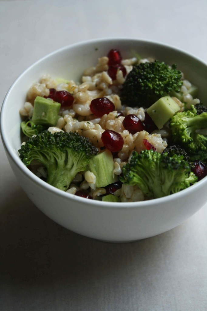 Broccoli Brown Rice Salad | Annelies Zijderveld