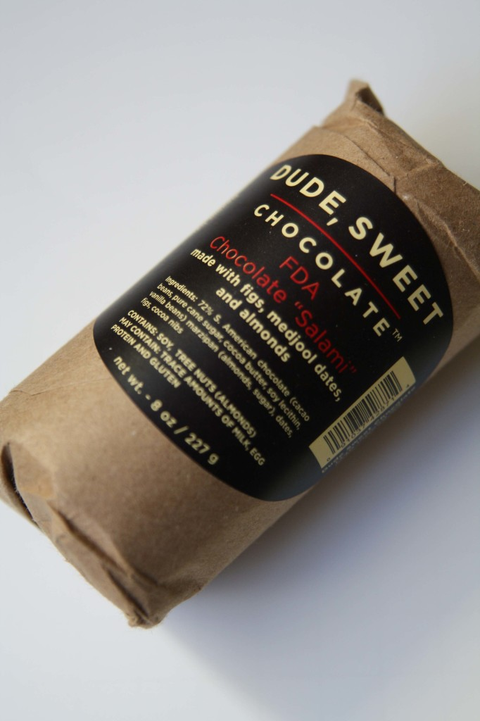 Holiday Gift Guide 2013- Dude Sweet Chocolate Salami_7096