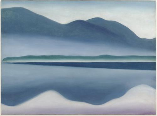 Georgia O'Keeffe Lake George Reflection Seascape