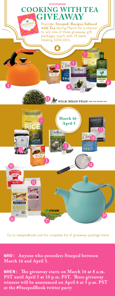 Cooking with Tea Giveaway
