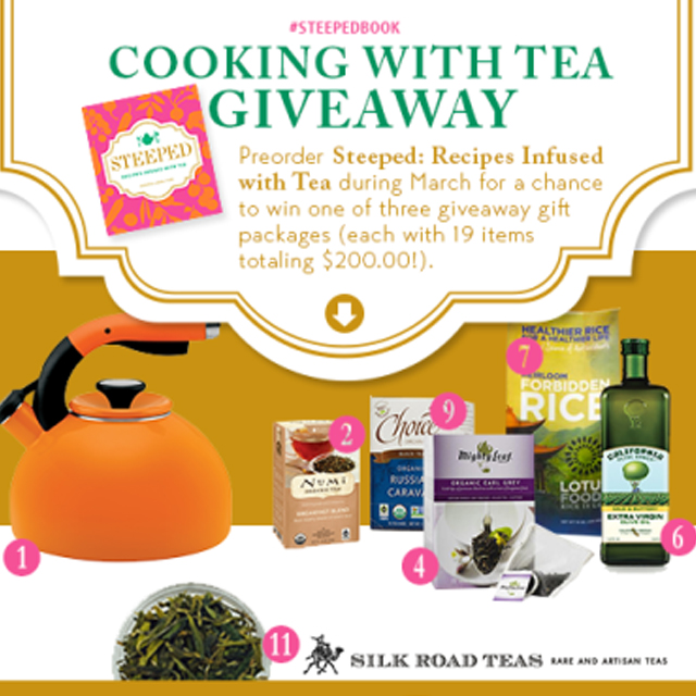 steeped giveaway