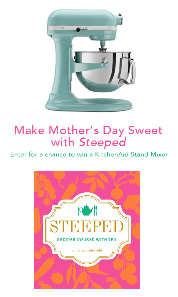 Mother's Day Giveaway-- Win a KitchenAid stand mixer!
