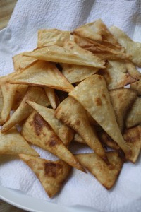 DIY RECIPES- Making Tortilla Chips From Scratch