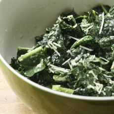 SALAD RECIPES- Kale Caesar Salad