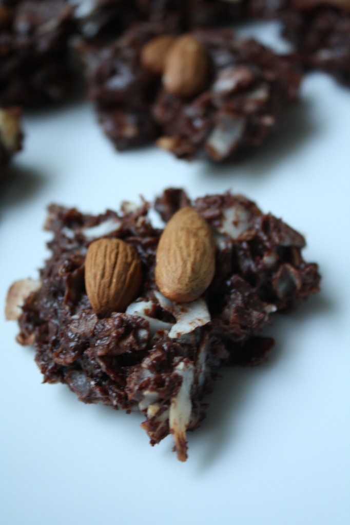 DESSERT RECIPES- Homemade Almond Joys