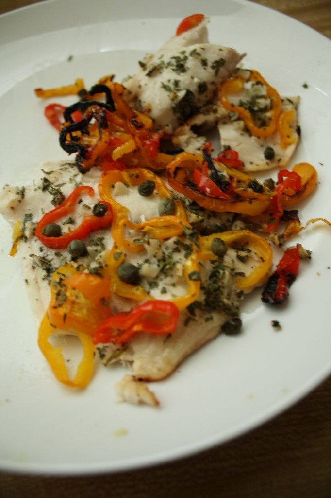 FISH RECIPES- confetti-tilapia