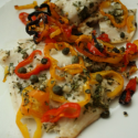 sweet pepper tilapia