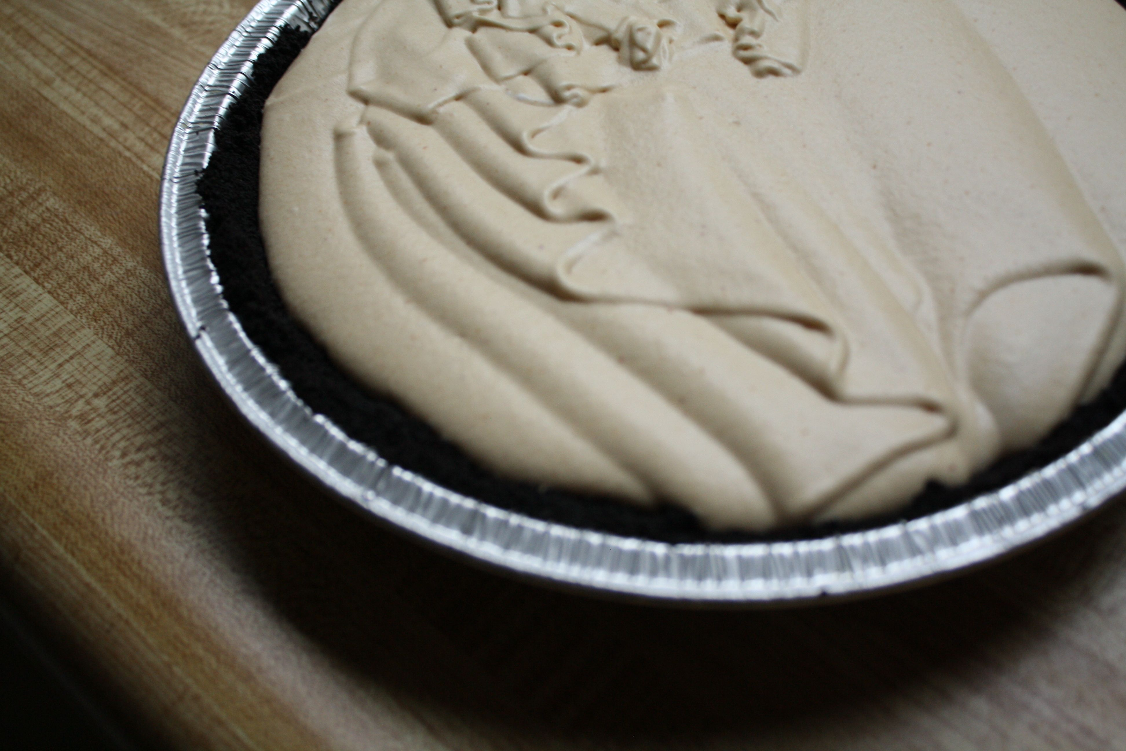 Peanut Butter Cream Pie for Mikey - august 12, 2011