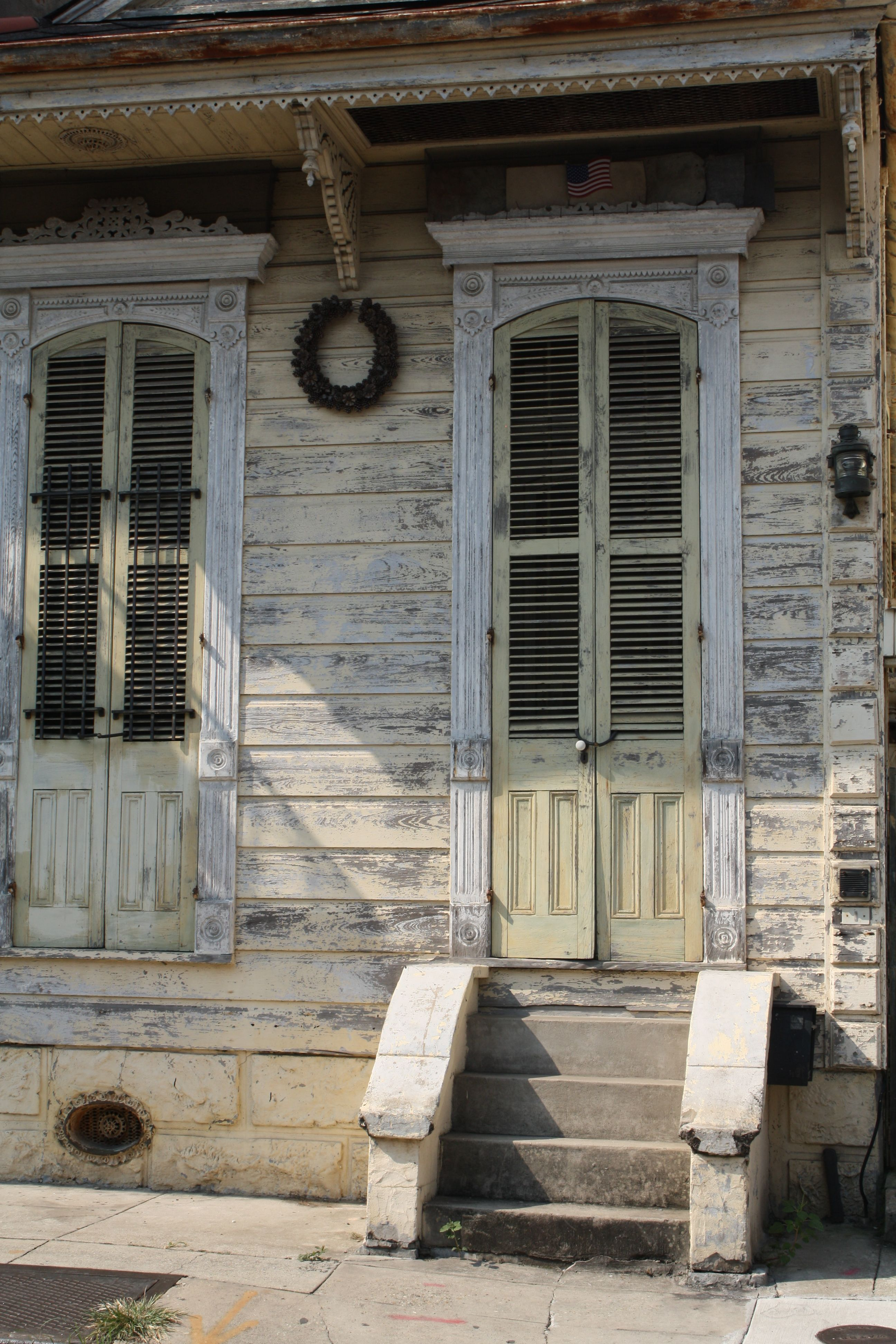 French Quarter Doors