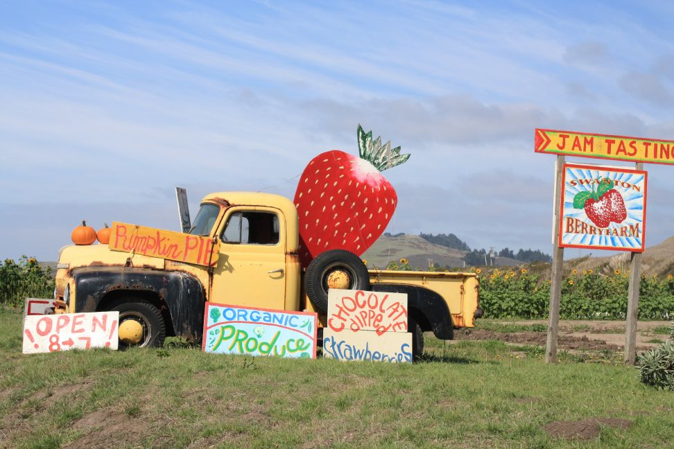 Swanton Berry Farm Truck Welcome