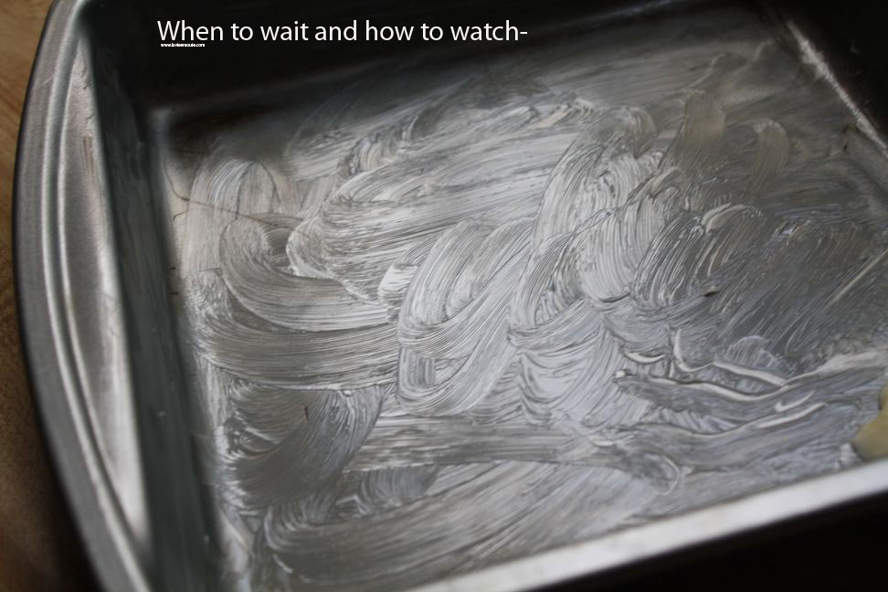 When to wait and how to watch