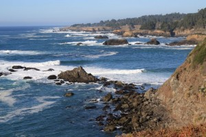 mendocino california coast pacific ocean