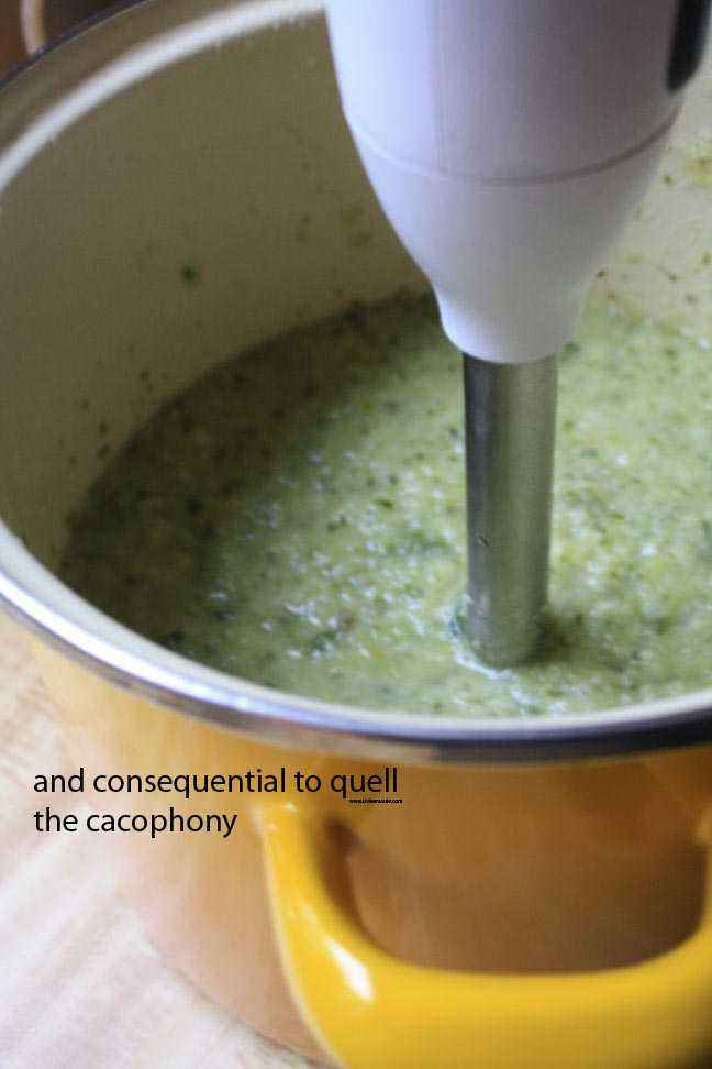 and consequential to quell the cacophony