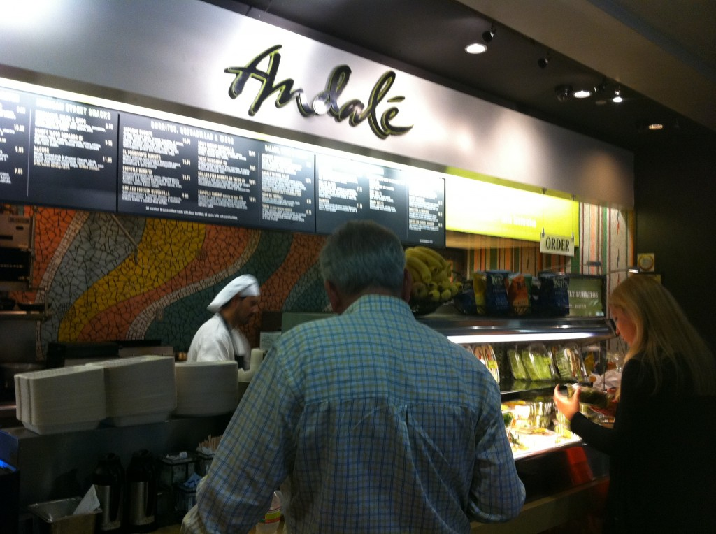 Andale-SFO-terminal 3-restaurants