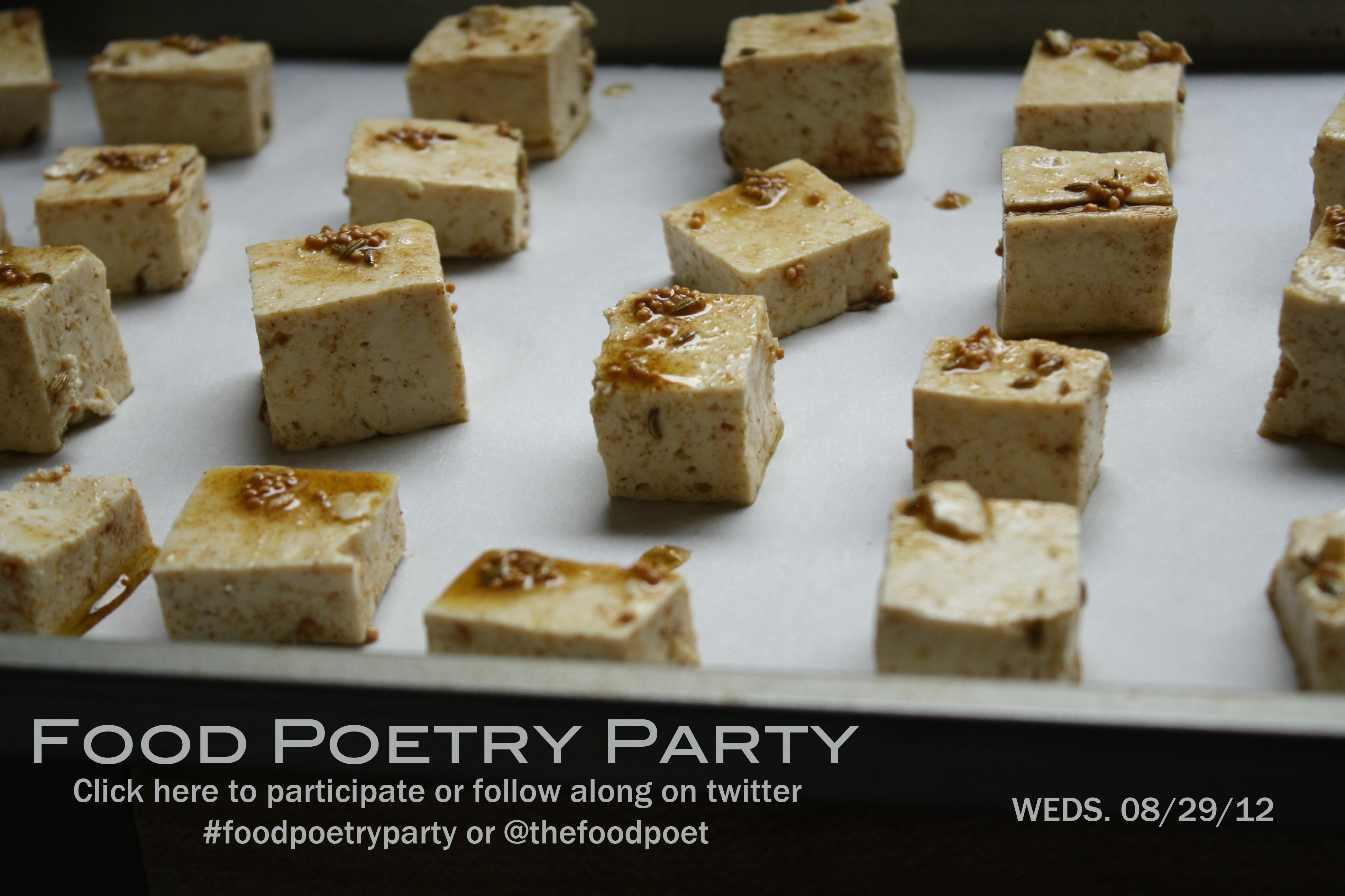 Food Poetry Party