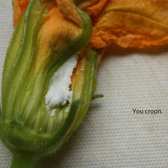 squash blossoms food photo poetry