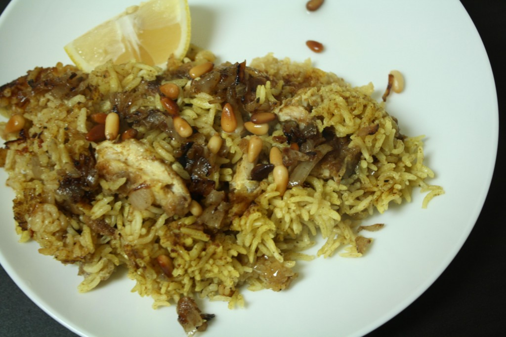 An Edible Mosaic- Fish Pilaf