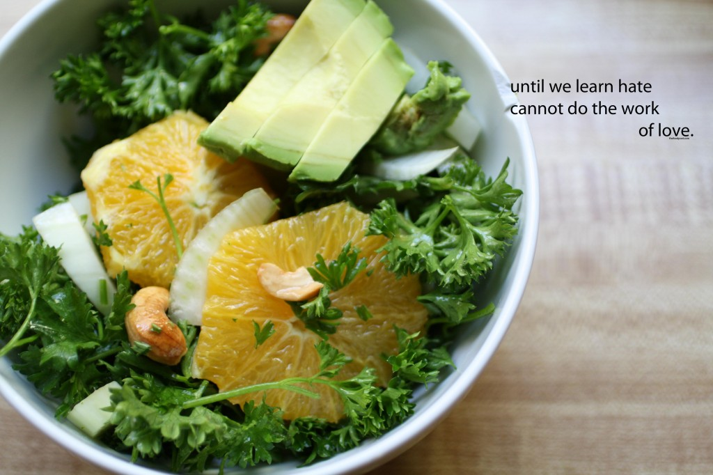 Parsley Fennel Citrus Salad