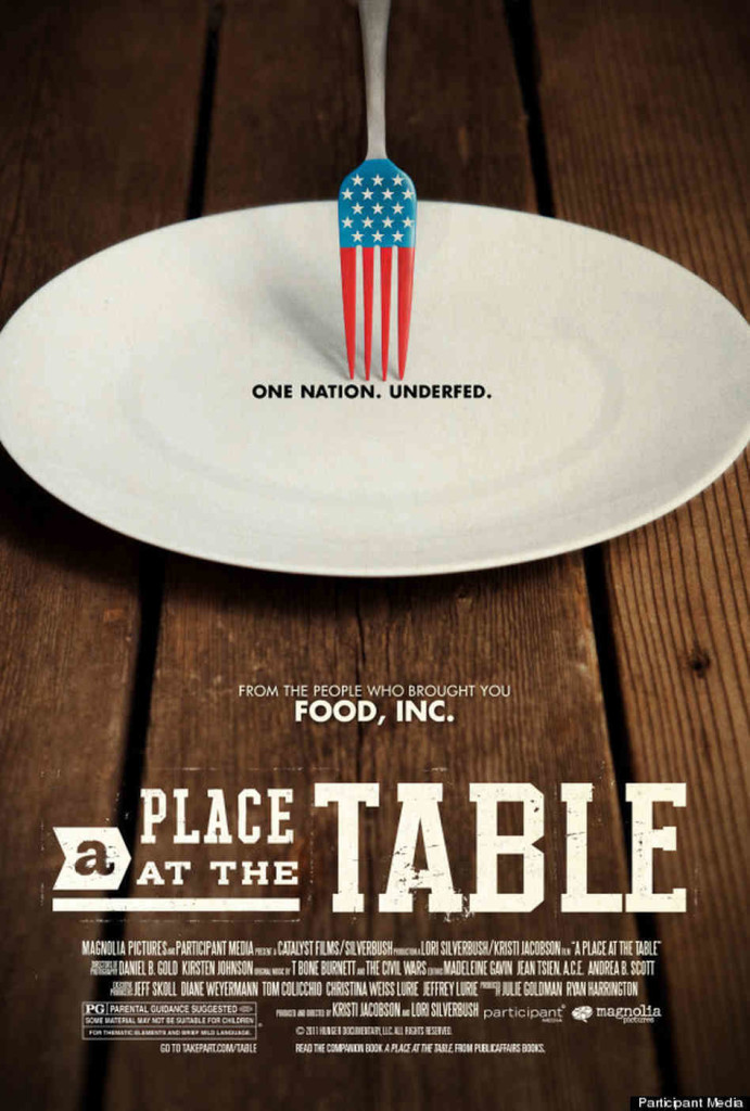 Hunger in America- A Place at the Table