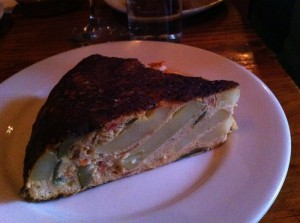 When in Portland eat tortilla espanola at Toro Bravo