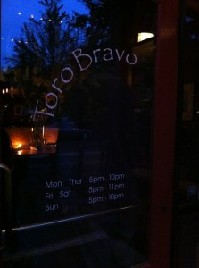 When in Portland eat at Toro Bravo
