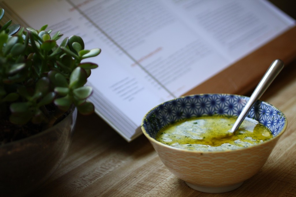 creamy chimichurri sauce | the food poet