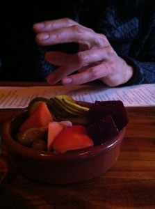 When in Portland eat pickled vegetables and olives at Toro Bravo