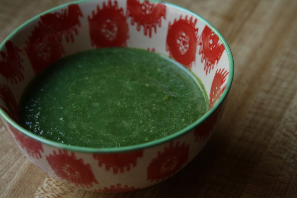 Stinging Nettle Soup | Annelies Zijderveld