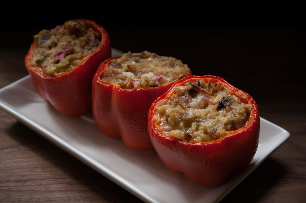 Stuffed Red Peppers | Annelies Zijderveld