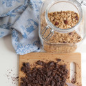 chocolate hazelnut earl grey granola- anneliesz