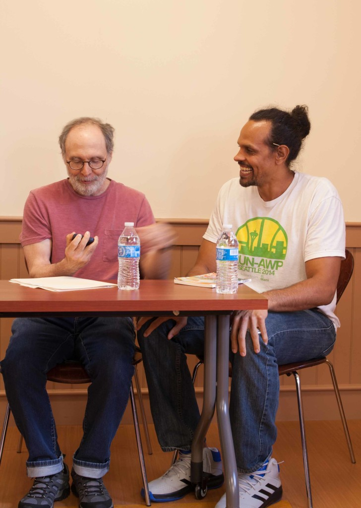 Poet Jeff Friedman and Poet Ross Gay