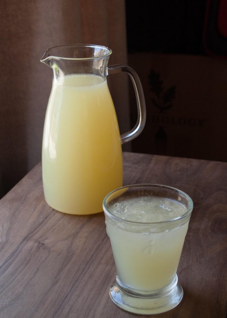 Ginger Lemon Limeade