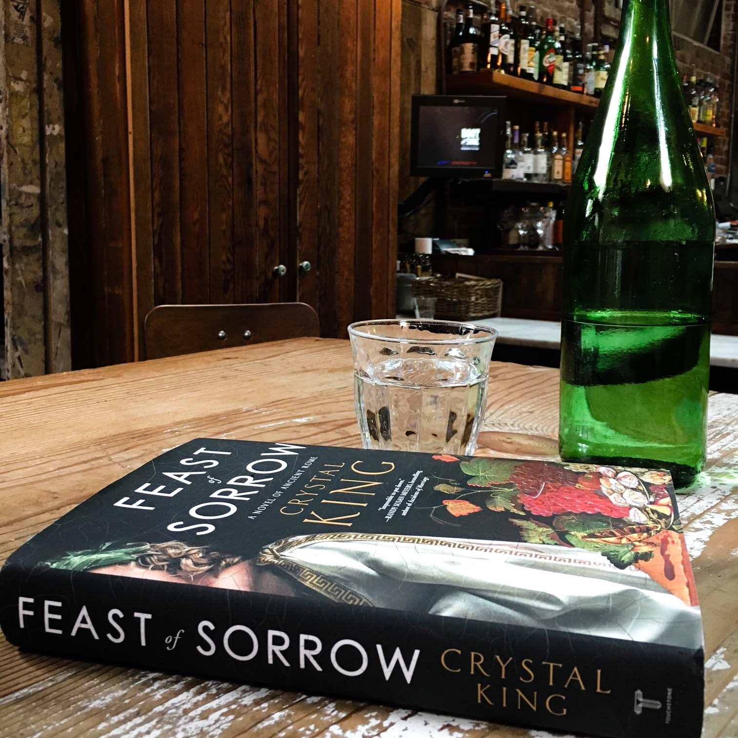 For lovers of historical fiction, Feast of Sorrow is a timeless tale set in ancient Rome.