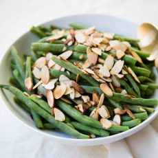 Lemon Green Bean Almondine - anneliesz