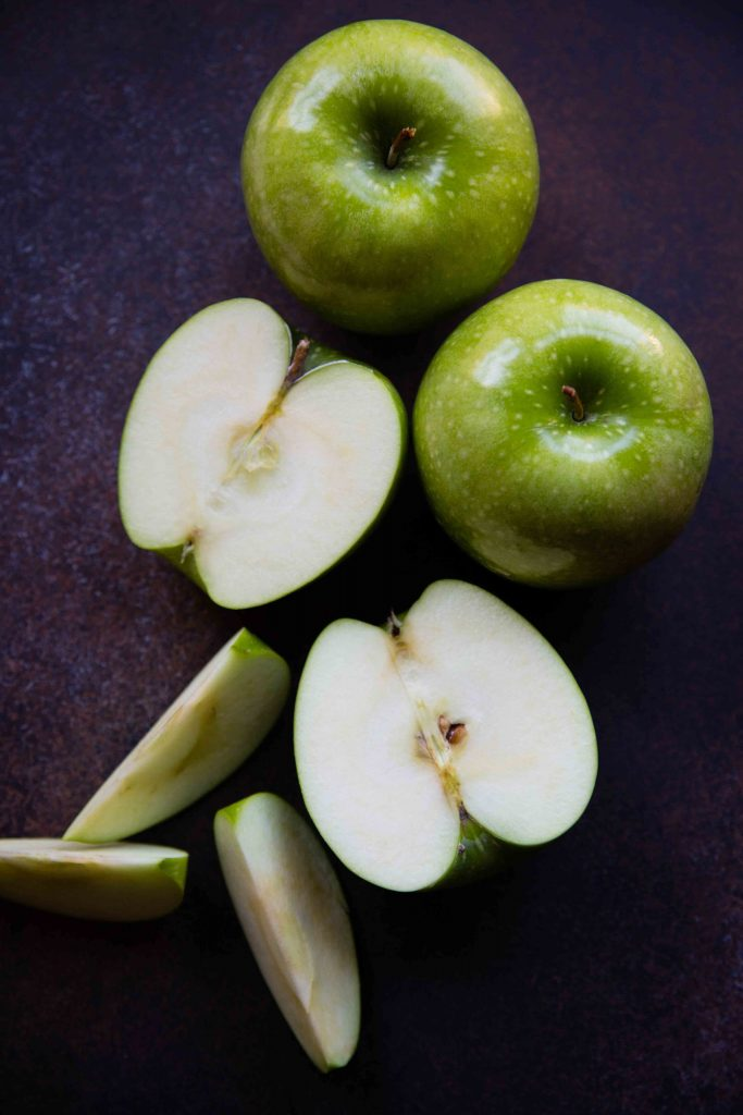 Granny Smith Apples are indispensable in an Apple Maple Pecan Cobbler because their tart flavor melds well with the maple sugar.