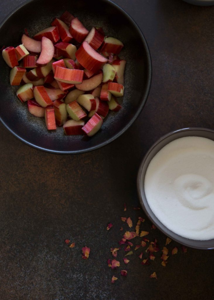 Rose rhubarb fools are the kind of easy whip up at the last minute dessert every cook needs.