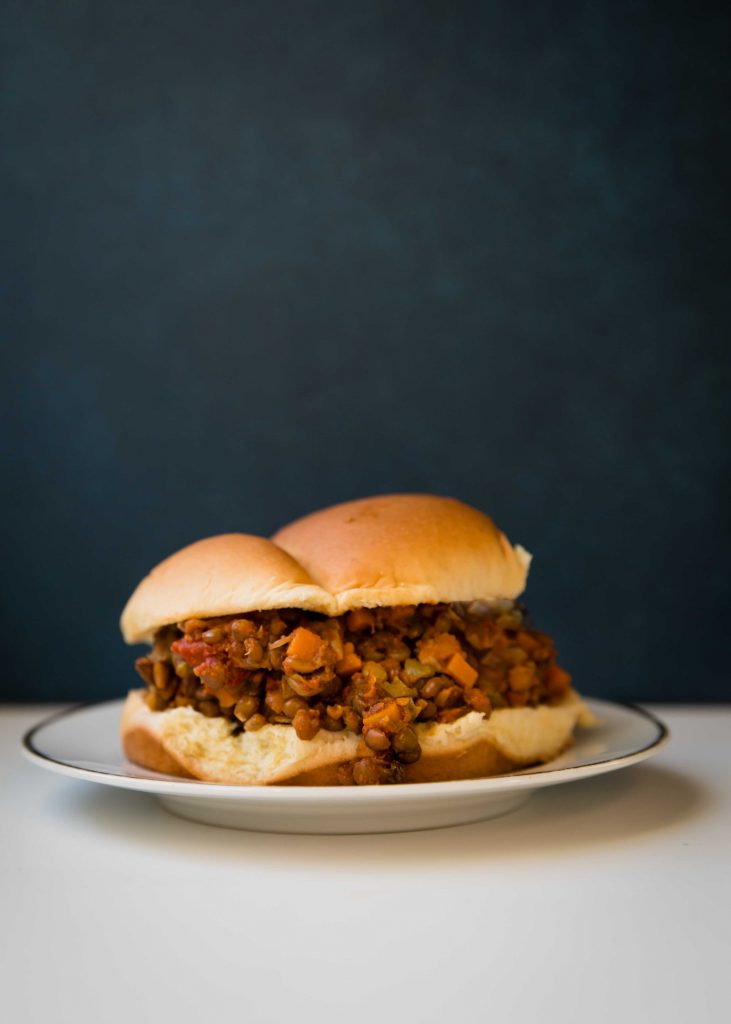 Trying to eat plant-based is easy when you've got a lentil sloppy joe waiting for you.