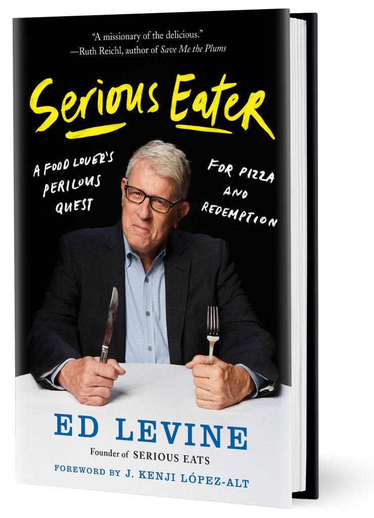 In this Serious Eater book review, I dish on this food business memoir from Ed Levine, a book that chronicles the trials and triumphs of Serious Eats.